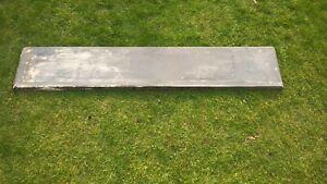 Very Large solid antique slate shelf mantelpiece.. stock item 005
