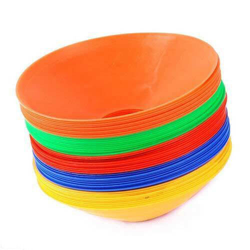 Sports Training Disc Markers Cones Soccer Afl Exercise Personal Fitness YP