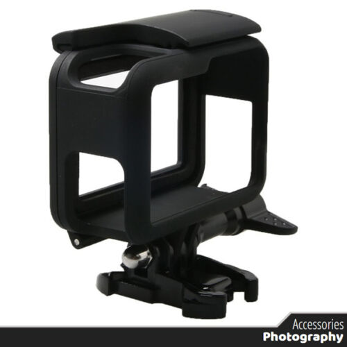 Black Protective Frame Case Standard Shell Protector Housing for Go Pro Hero 5