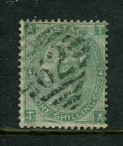 A-GB-GREAT-BRITAIN-QV-sg101a-1-GREEN-TA-ERROR-OF-WMK-W20a-IRISH-62-BELFAST