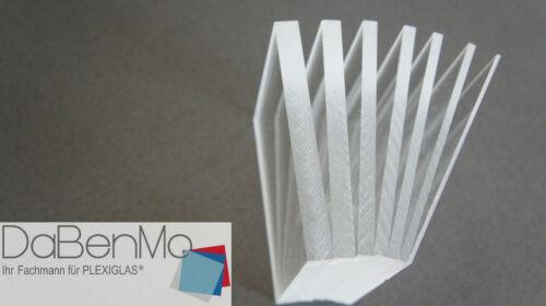 8mm PLEXIGLAS® Acrylglas klar Größe nach Wahl Zuschnitt kostenlos K 104,72//m²