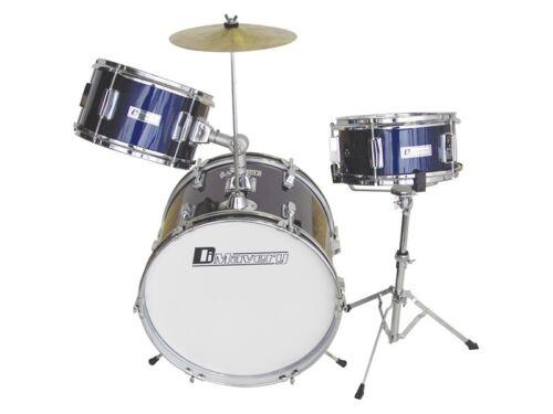 blau DIMAVERY JDS-203 Kinder Schlagzeug