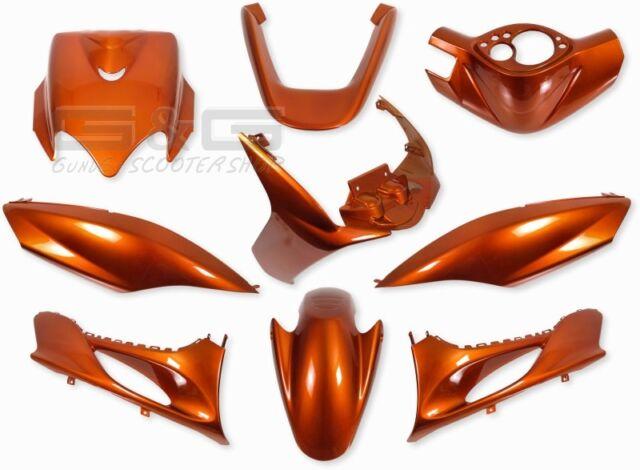 Accessoire de Déguisement Kit en Orange Metallique pour MBK Mach G Yamaha Jog R