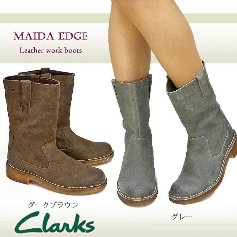 Clarks Original ** GREY DESERT MAIDA EDGE ** GREY ** BIKER BOOTS ** UK 3,4,5.5,6,6.5 D fa6b29