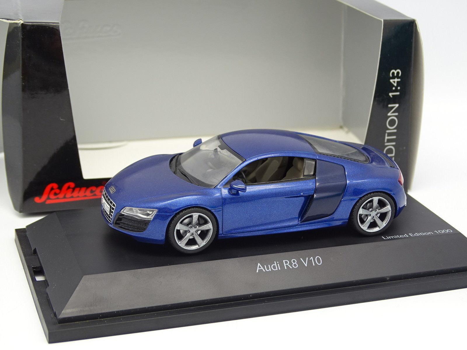 Schuco 1 43 - Audi R8 V10 blu