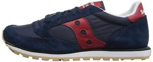 Saucony Originals Men's Jazz Low Pro Classic Sneaker, Navy/Red, Size  JUXL
