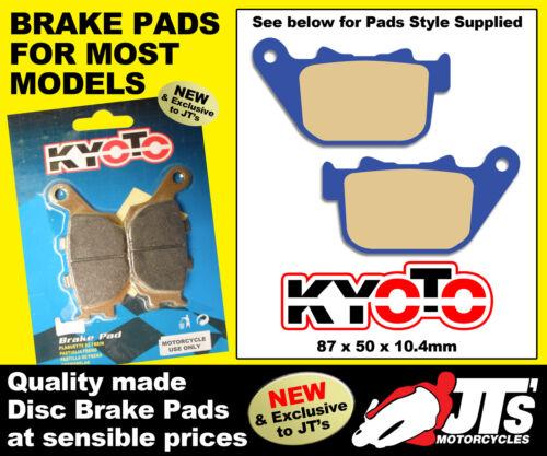 11-12 REAR DISC BRAKE PADS TO SUIT HARLEY DAVIDSON XL883 L XL883L Superlow