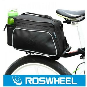 Sports Cycling Bike Bicycle Seat Bag Rear Rack Pack Trunk Pannier Bags