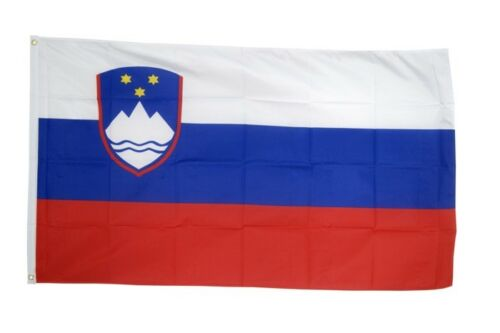 Drapeau SLOVÉNIE Drapeau SLOVÈNE Hissflagge 90x150cm