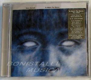 STEVE-HACKETT-TO-WATCH-THE-STORMS-CD-Sigillato