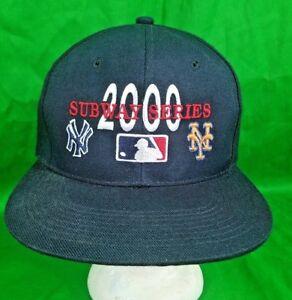 Subway Series 2000 Hat New York Yankees Mets Snapback MLB Cap  5ce3b6b62de