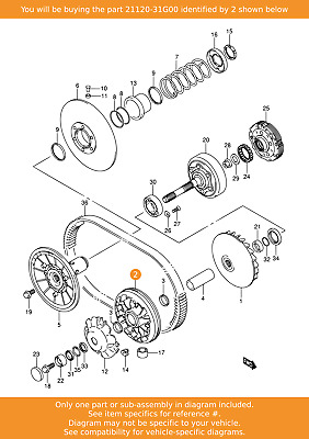 NOS OEM Suzuki 05-15 GSX-R750 R1000 Fiber Clutch Plate Drive N0 3 # 21442-41G00