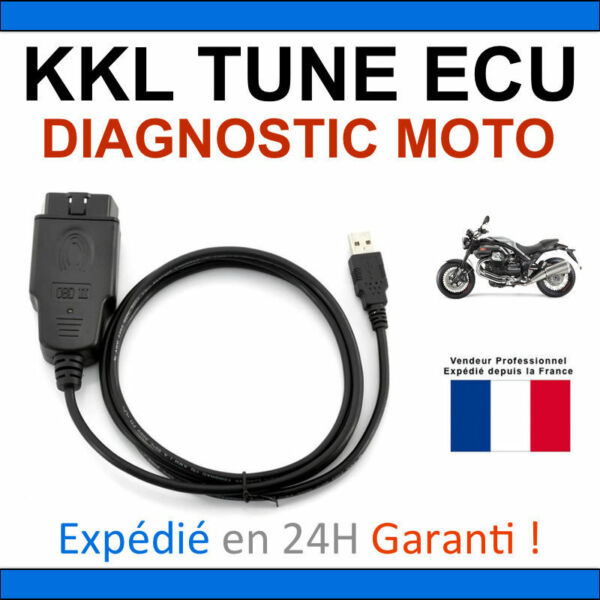 Aspirante Valise Kkl Spéciale Diagnostic Motos - Compatible Tune Ecu Ducati Aprilia Ktm