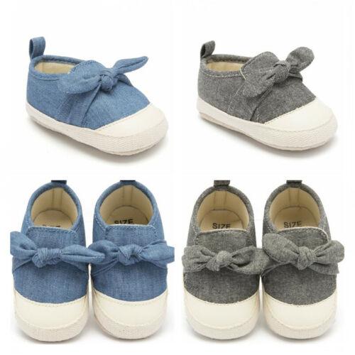 Confortable Newborn Baby Girls Crib Chaussures Toddler Prewalker Baskets Taille 1 2 3