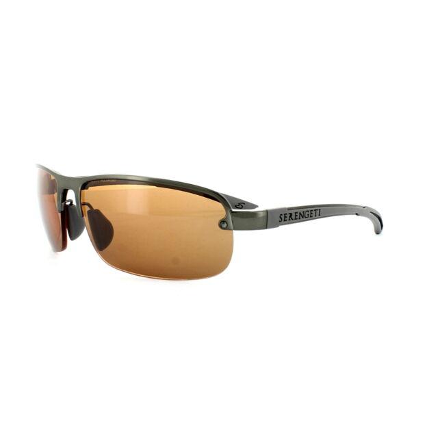 Strato Brown 7682 Serengeti Sunglasses Polarized Photochromic Gunmetal Drivers pqMUVGLSz