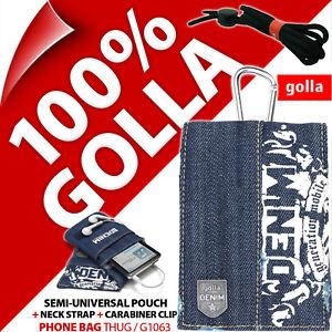 NUEVO-Golla-Negro-Funda-para-telefono-bolso-para-iPhone-4-4s-5-5s-SE-Samsung