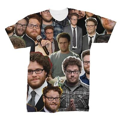Seth Rogen Photo Collage T-Shirt