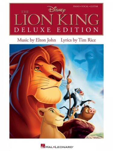 The Lion King Deluxe Edition Sheet Music Piano Vocal Guitar SongBook N 000313624