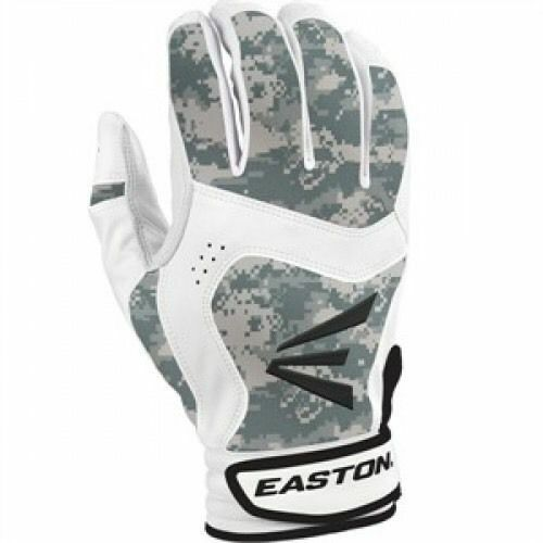 Easton Youth Stealth Core Batting Gloves White Digital small medium or large