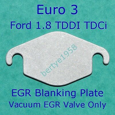 EGR Blanking plate Fits Ford 1.8 TDCi Connect,Focus Mondeo Galaxy Cmax Euro4