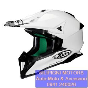 X-LITE-X-502-START-03-METAL-WHITE-Casco-Integrale-Off-Road-Enduro-Cross-in-FIBRA