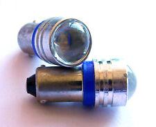 2 X Projector Blue LED Royal Enfield Bullet Parking / Pilot Lamp Light Bulbs