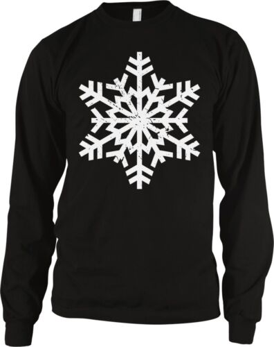 Snowflake Christmas Winter Pageant Holidays Seasonal Long Sleeve Thermal