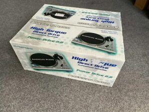 American-Audio-Power-Drive-2-2-Plattenspieler-inkl-System