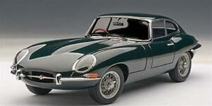 Jaguar Type E Coupe Série 3.8 Vert Vert Autoart 1:18 Aa73612