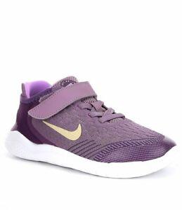 nike free rn psv Nike Free RN 2018 (PSV) Girls AH3455 500 Violet Dust MTLC Gold ...