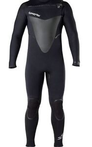 ab3be2d18a Details about NEW! 4/3mm Men's Size XS Black HYPERFLEX VOODOO Chest Zip  Full Wetsuit ANB