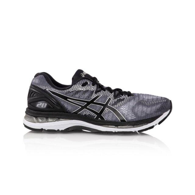 Asics Gel Nimbus 20 Men's Running Shoes CarbonBlackSliver