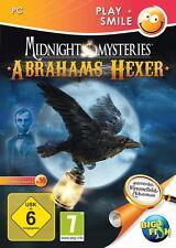 MIDNIGHT MYSTERIES * ABRAHAMS HEXER *  WIMMELBILD-SPIEL   PC CD-ROM