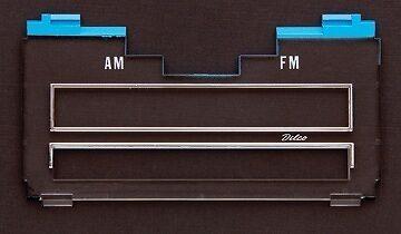 1971 1972 Impala Belair Caprice AM//FM Mono Radio Lens