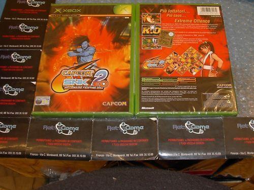 CAPCOM VS SNK 2 XBOX PAL NUOVO SIGILLATO x box