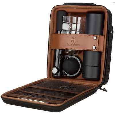 New Handpresso Wild Hybrid Outdoor Set + Pump & Flask for Ground Coffee/ESE Pods