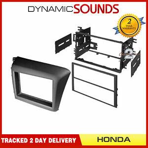 CT23HD45-Autoradio-Double-Din-Adaptateur-Facade-Kit-Noir-pour-Honda-Civic-2012-gt