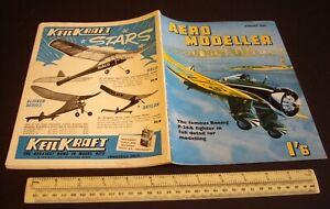 Vintage Aeromodeller Magazine (Aug 1959). Engine Analysis Webra Komet & Bully