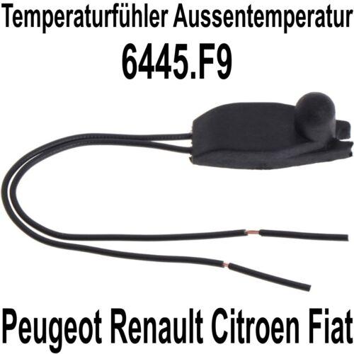 Temperatura exterior sensor de temperatura adecuado para citroen peugeot renault 6445.f9