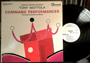 Tony-Mottola-LP-Command-Performances-Command-1965-EX-Gatefold