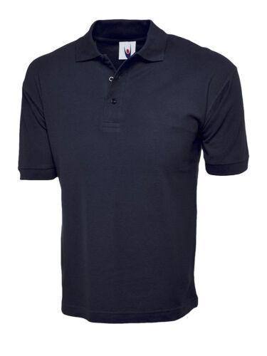 uc112 Uneek coton riche Polo 100/% coton t-shirt unisexe