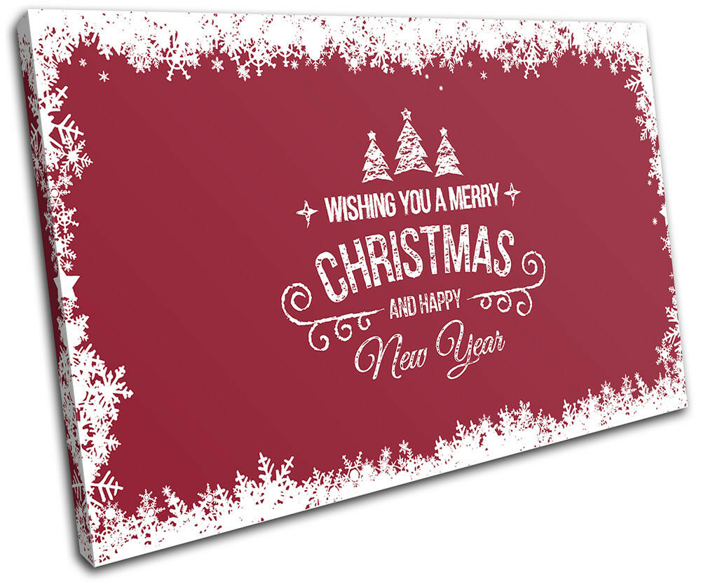 Christmas Decoration Wall Canvas ART Print XMAS Picture Gift  03 rose Christmas