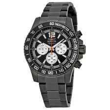 Invicta Signature II Divers Chronograph Black Dial Mens Watch 7412