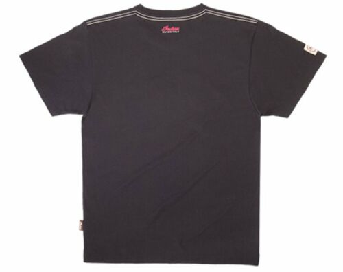 Mens indian scout logo tee blk
