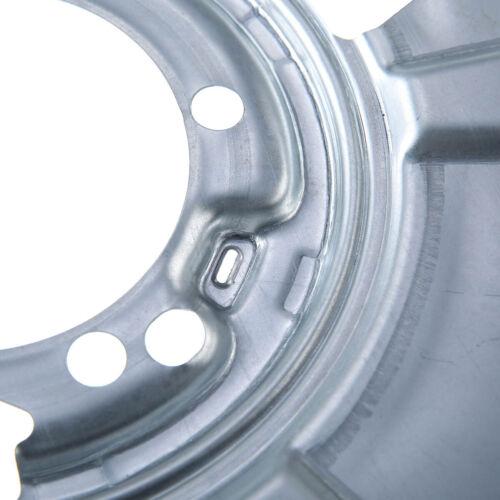 2x Deckblech Bremsscheibe Bremsankerblech Hinten für Mercedes Sprinter 3,5 T 906