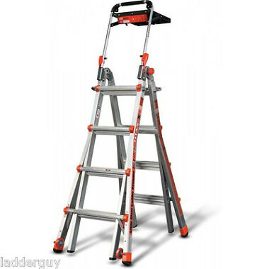 Little Giant 17' Ladder with Air Deck & Wheels