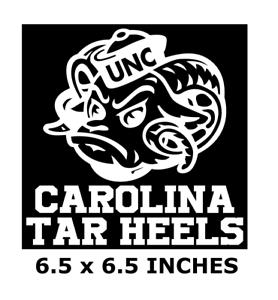 "north carolina tar heels coloring pages | CAROLINA TAR HEELS VINYL DECAL GREAT FOR 8"" GLASS BLOCK ..."