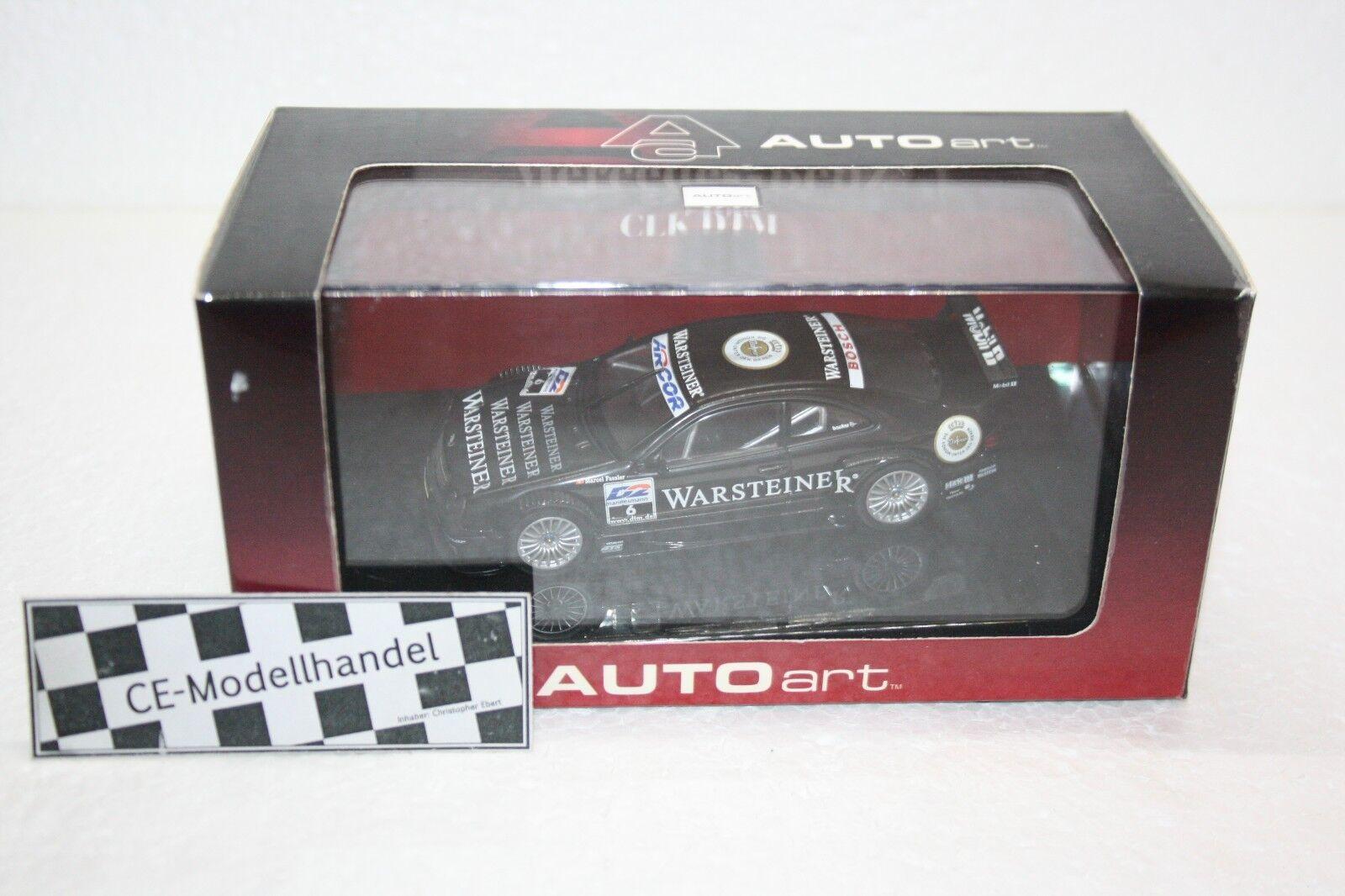 Mercedes-Benz CLK-DTM AMG   6 M. Fässler • 2000 • CarArt • 1 43