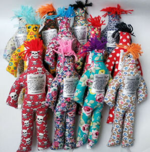 NEW-Random-Pattern-Color-Stress-Relief-12-034-Dammit-Doll-Plush-toy-1pc-Xmas-Gift