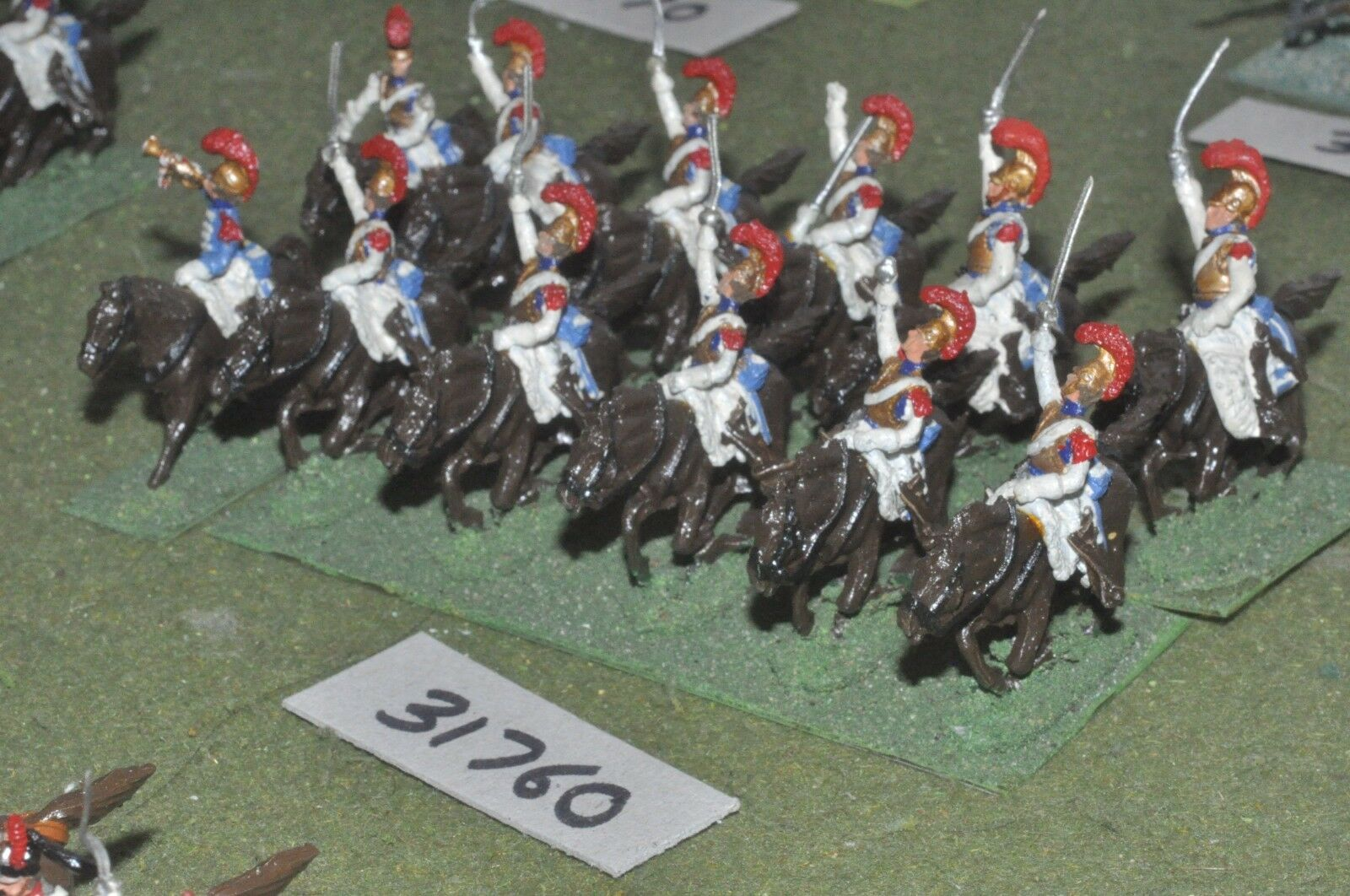 25mm napoleónicas francés-CocheABINIERS 12 figuras-CAV (31760)